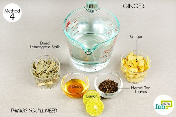 ginger tea for relief from asthma