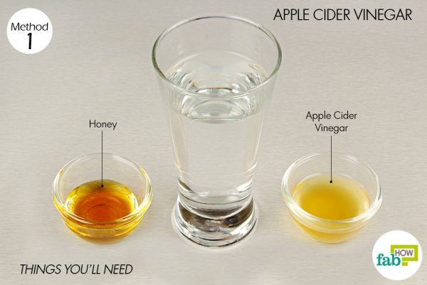 apple cider vinegar for relief from asthma