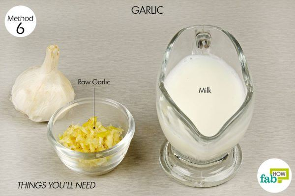 garlic for relief from asthma