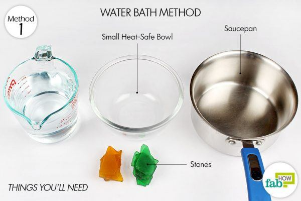 things you'll need to make stovetop waterbath double boiler