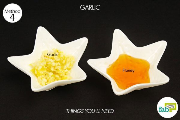 things you'll need using garlic to treat herpes
