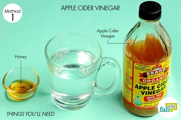 things you'll need to use acv to treat indigestion