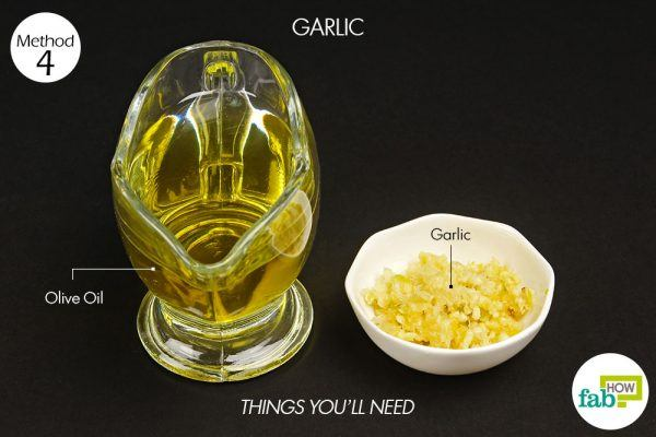 things you'll need to use garlic oil to treat herpes