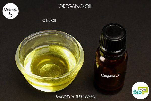 things you'll need to use oregano oil to treat herpes