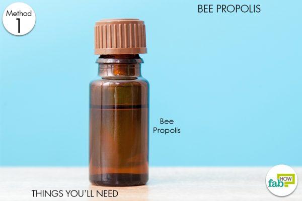 bee propolis toenail fungus