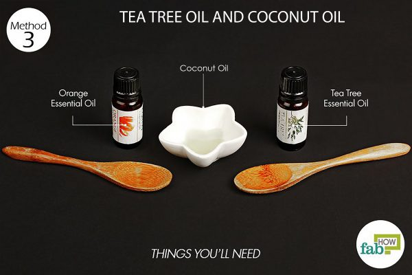 things need coconut oil tea tree