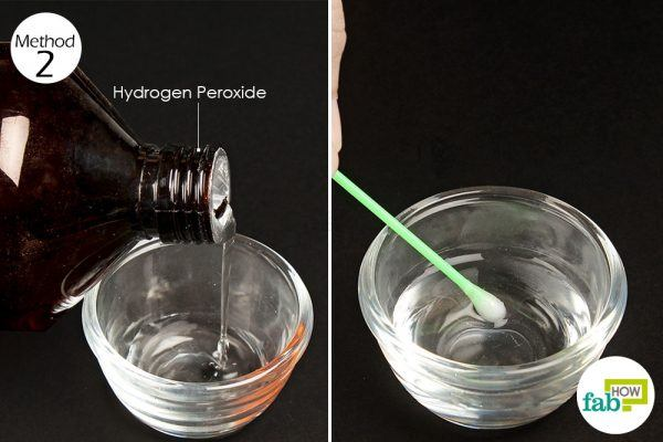 use hydrogen peroxide to treat herpes