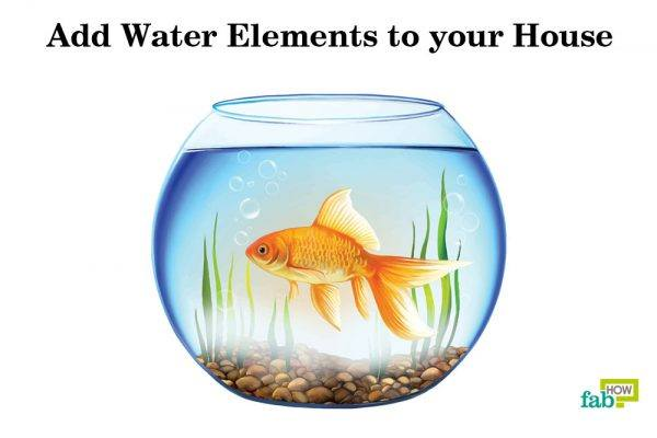 add water elements to your house
