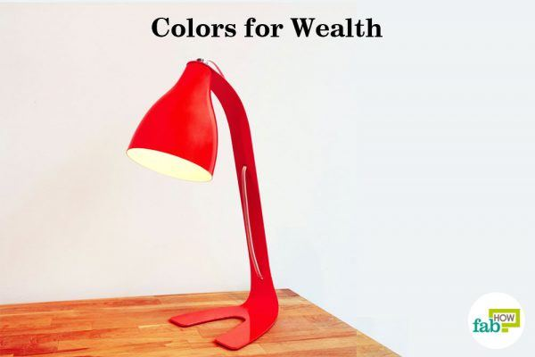 colors for wealth