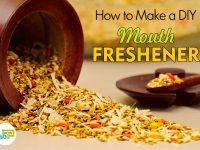 how to make DIY mouth freshener