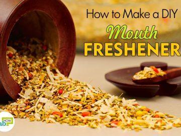 how to make DIY mouth freshener