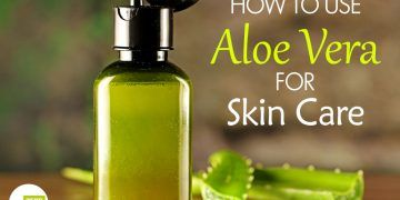how to use aloe vera for skin care