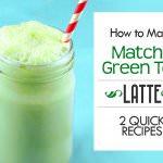 how to make matcha green tea latte