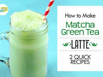 how to make matcha green tea latte