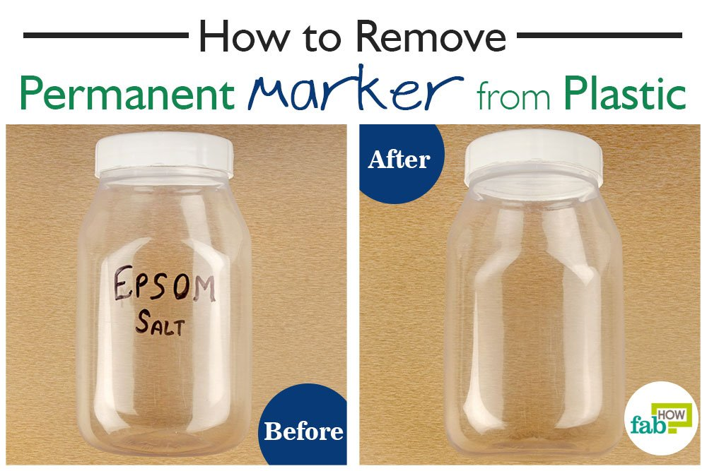 How To Remove Permanent Marker From Plastic 4 Methods Fab How