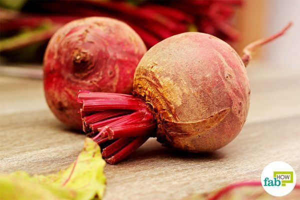 final basic preperation to cook beets