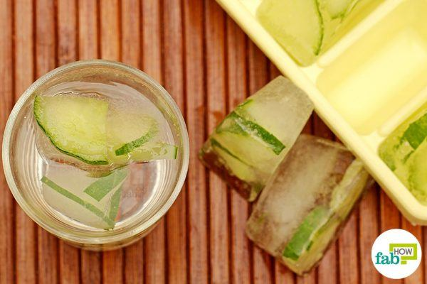 final for lemon-cucumber in ice cube tray hacks