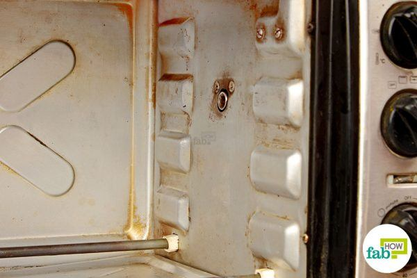 final image how to clean oven toaster griller diy cleaner method