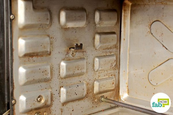 final image how to clean oven toaster griller vinegar method