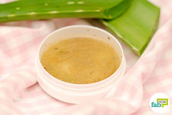 final skin care with aloe vera face pack for acne free skin