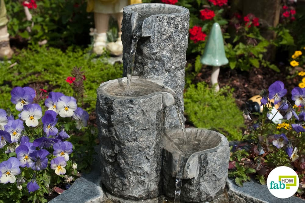 Feng Shui 8 Water Feature Fountain to Attract Money