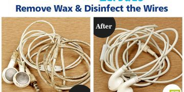 how to clean earbuds
