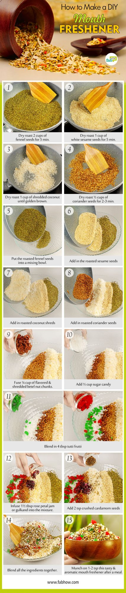 how to make mouth freshener