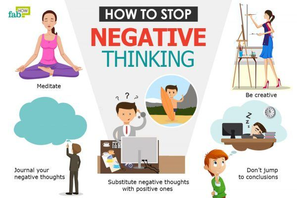 how to get negative thoughts out of your mind