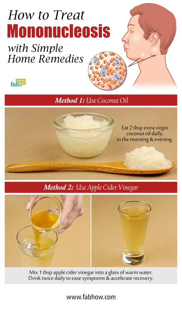 how to treat mononucleosis