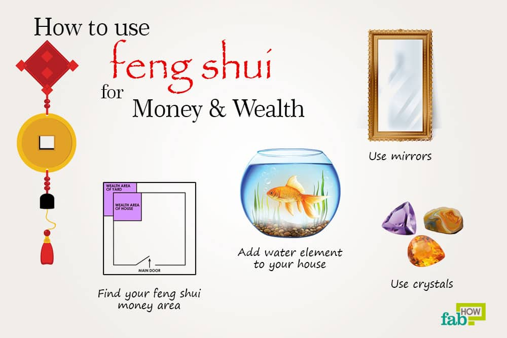 how to use feng shui to attract money and wealth fab how. Black Bedroom Furniture Sets. Home Design Ideas