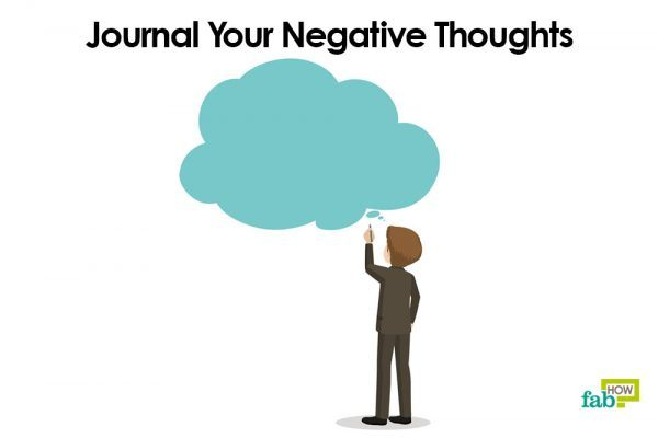 journal your negative thoughts