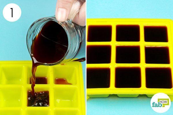 freeze cooled coffee