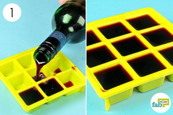 freeze the leftover wine