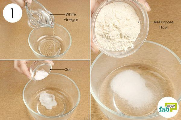 make a paste with the three ingredients