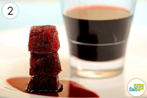 use frozen wine cubes in cooking