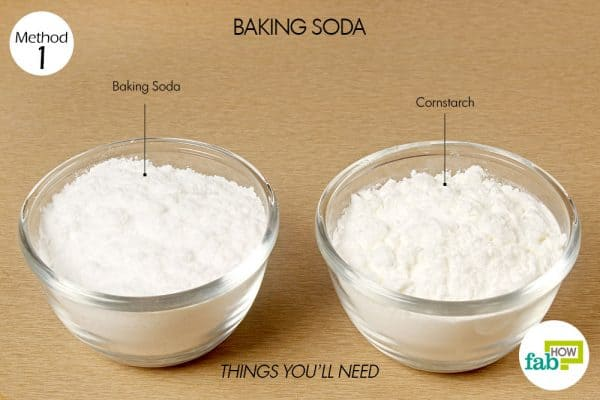 baking soda to get rid of body odor things need