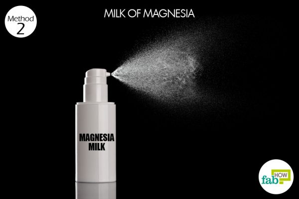 milk of magnesia to get rid of body odor