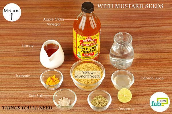things you will need to make mustard sauce with mustard seeds