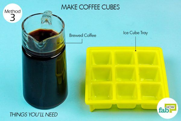 things you'll need for coffee in ice cube tray hacks