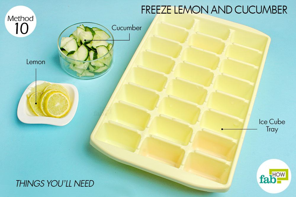 how to make ice without a tray