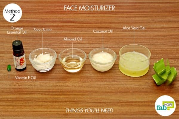 things you'll need for skin care with aloe vera face moisturizer