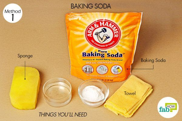 things you need how to clean oven toaster griller baking soda method