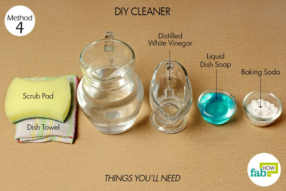 how to use sugar soap to clean oven