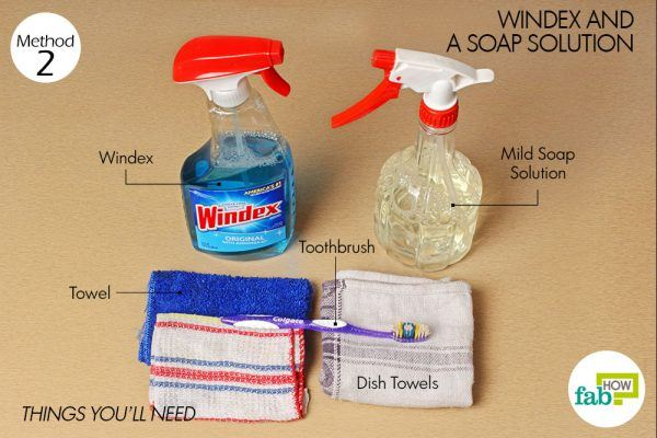 things you need how to clean oven toaster griller  windex method