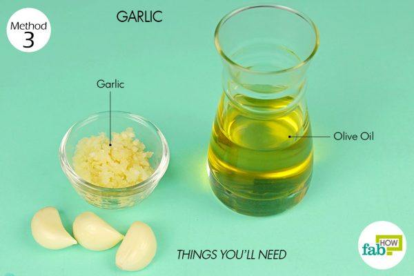 things you'll need to get rid of athlete's foot using garlic