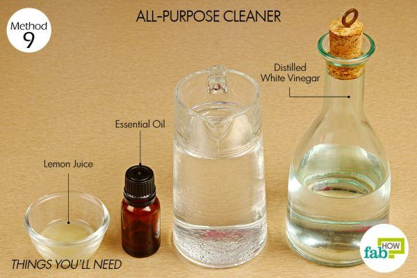 things you need how to use vinegar all purpose cleaner