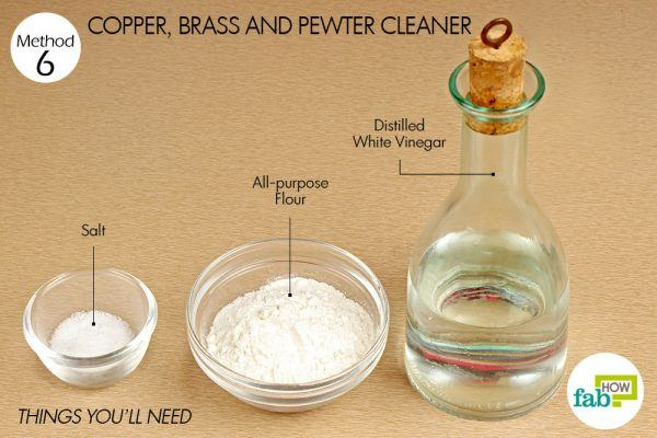 things you need how to use vinegar copper brass and pewter cleaner
