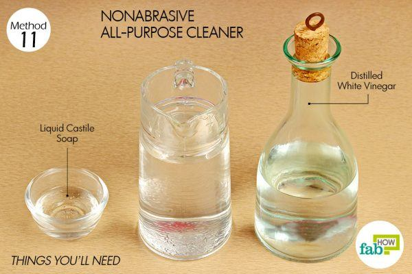 things you need how to use vinegar non abraisive all purpose cleaner