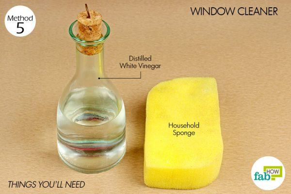 things you need how to use vinegar spot cleaner