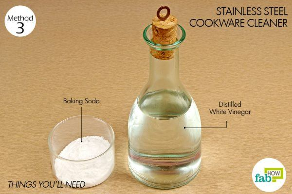 things you need how to use vinegar stainless steel cleaner